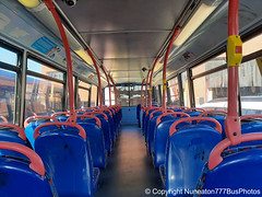 Photo of Bus Interior #44: National Express Coventry BJ03EVC 4453