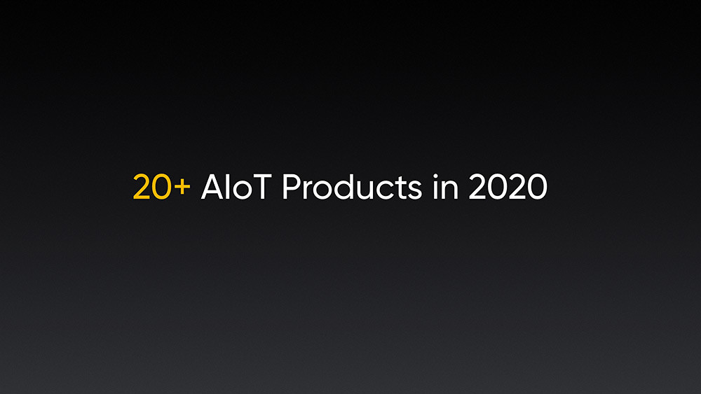 realme將於2020年發表20多款IoT產品,計畫於一年內完成realme-UNI-Smart-AIoT(UNI為universal縮寫)全生態布局。