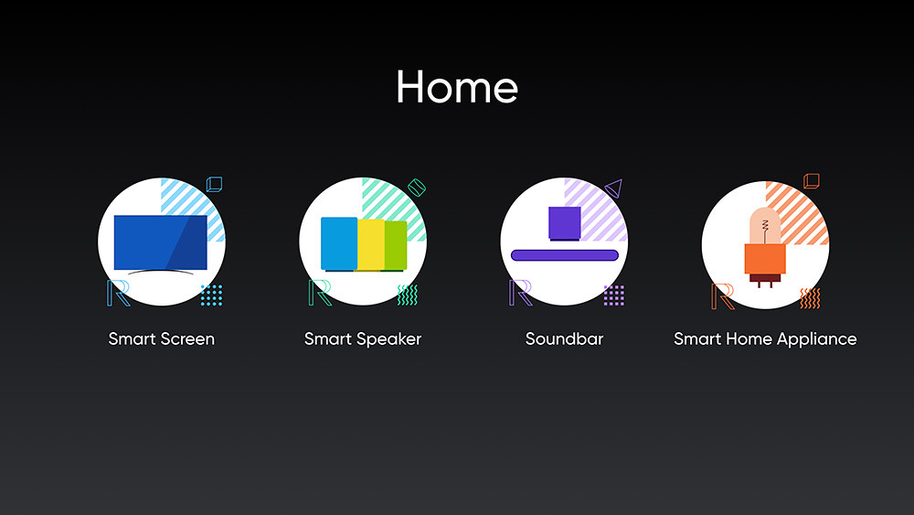 realme-UNI-Smart-AIoT將圍繞家庭,推出多品類科技潮玩單品。