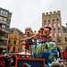 Carnival in Cologne 2020: satirical float with Trump, Putin, Kim Jong-un and Boris Johnson playing with fire - and the world is the victim