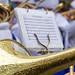 Nahaufnahme: Notenblatt fürs Kölner Karnevalslied