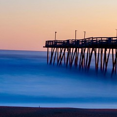 Avalon Pier on the Outer Banks.