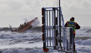 Porthcawl Atlantic 85 Rough Weather Training Exercise