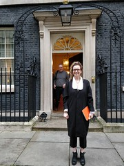 Photo of With Natalie and Ben at Number 10