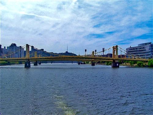 Pittsburgh Pennsylvania   -  Historic District - Allegheny River Bridges