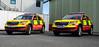 Thames Valley Air Ambulance   Skoda Kodiaqs   OE18 LCU + OY69 OKF   Critical Care Response Cars