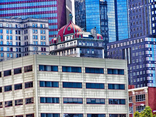 Pittsburgh Pennsylvania  -- AKA - The Keenan Building - Midtown Towers - Historic Building