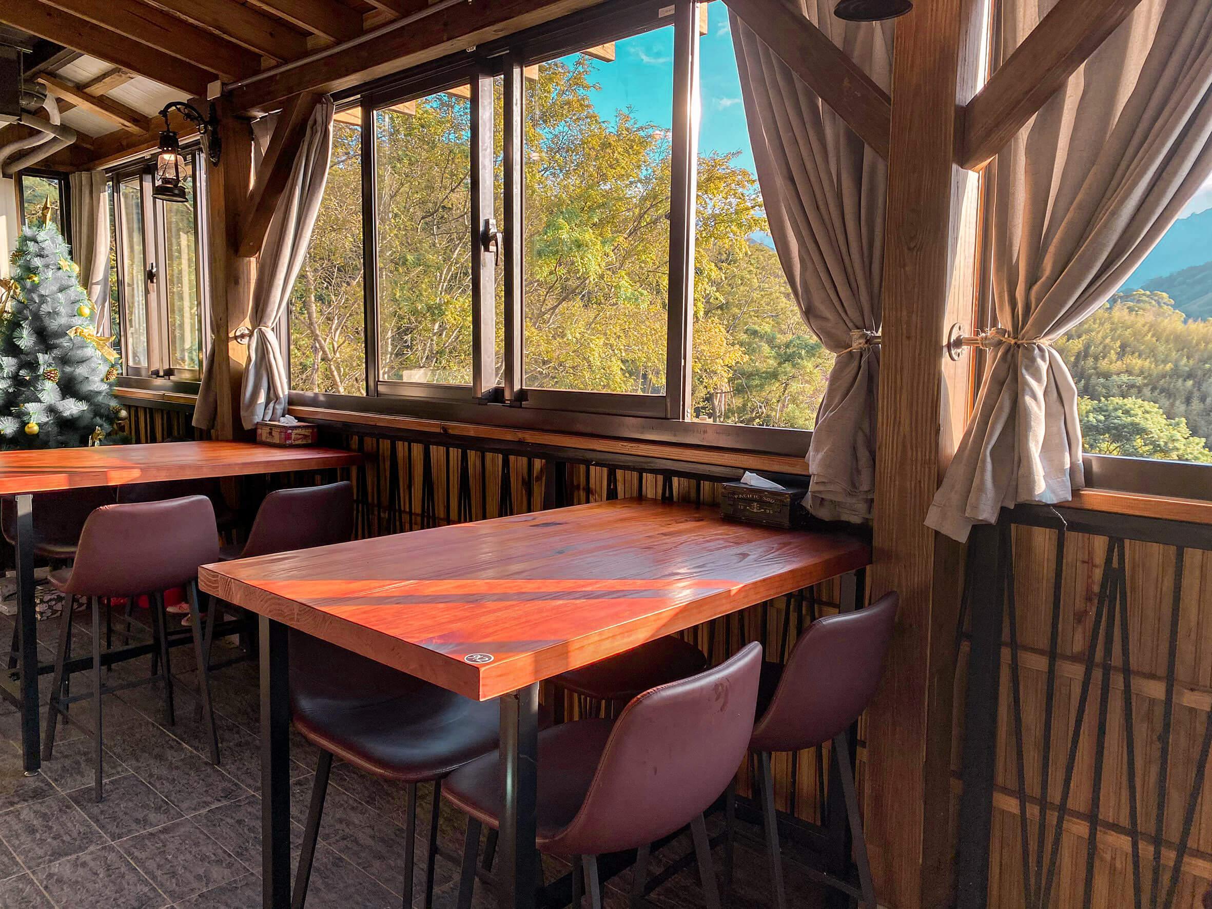 桃園景觀餐廳|丸山咖啡/ 復興區景觀餐廳 / 環境