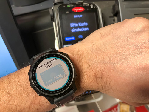 Garmin Pay: contactless payment system with credit card from your Garmin smartwatch