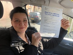 Massive congratulations  to Aivita Mamatova passing her driving test!   www.leosdrivingschool.com  WARNING: Getting your license is a good achievement however being a SAFE driver for life is the biggest achievement!