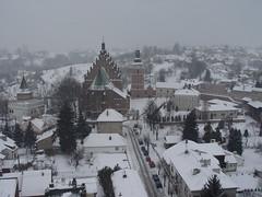 Zabudowa Biecza z Wieży Ratuszowej, fot. K. Fidyk MIK 2007