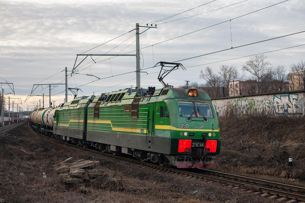 фото: 2ЭС4К-050, Автово - Нарвская