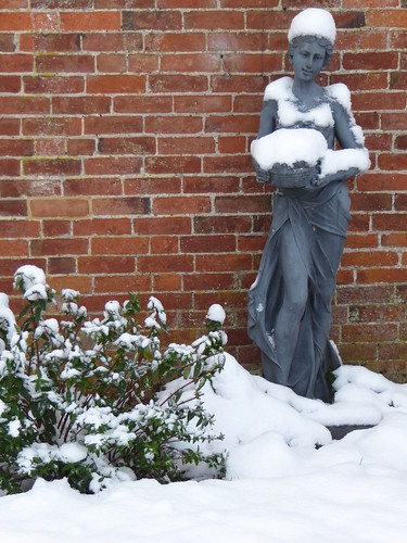 December - chilly lady!