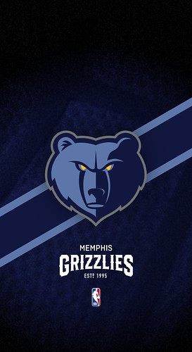 Memphis Grizzlies Nba Iphone X Xs 11 Android Lock Screen