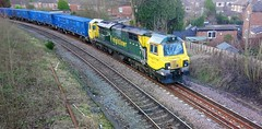 Photo of Freightliner Class 70 No 70011 at Skelton Junction, Timperley