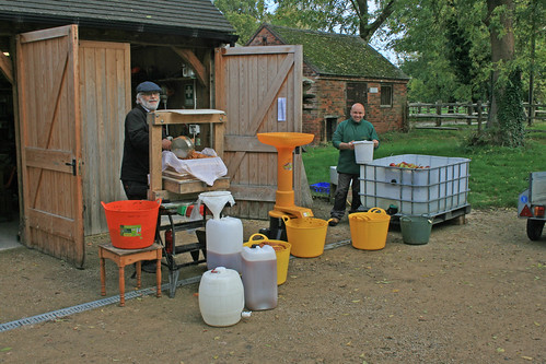 October - Cider making