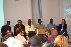 Speakers presenting Nigeria experience in Data Collection and Prioritization during Session 1
