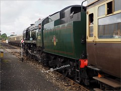 Photo of No 34053 Sir Keith Park at Tyesley