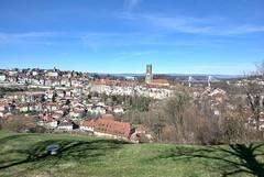 Vue sur Fribourg