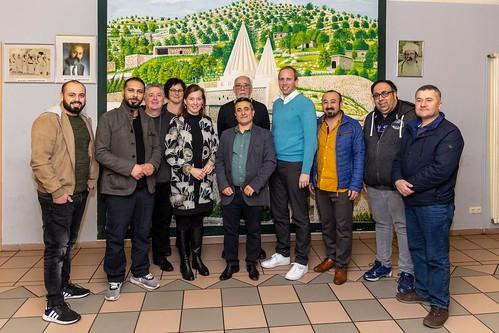 Austausch mit dem Yezidischen Forum in Oldenburg mit Siemtje Möller MdB.