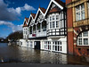 The Old Rectifying House, Worcester - Flooded