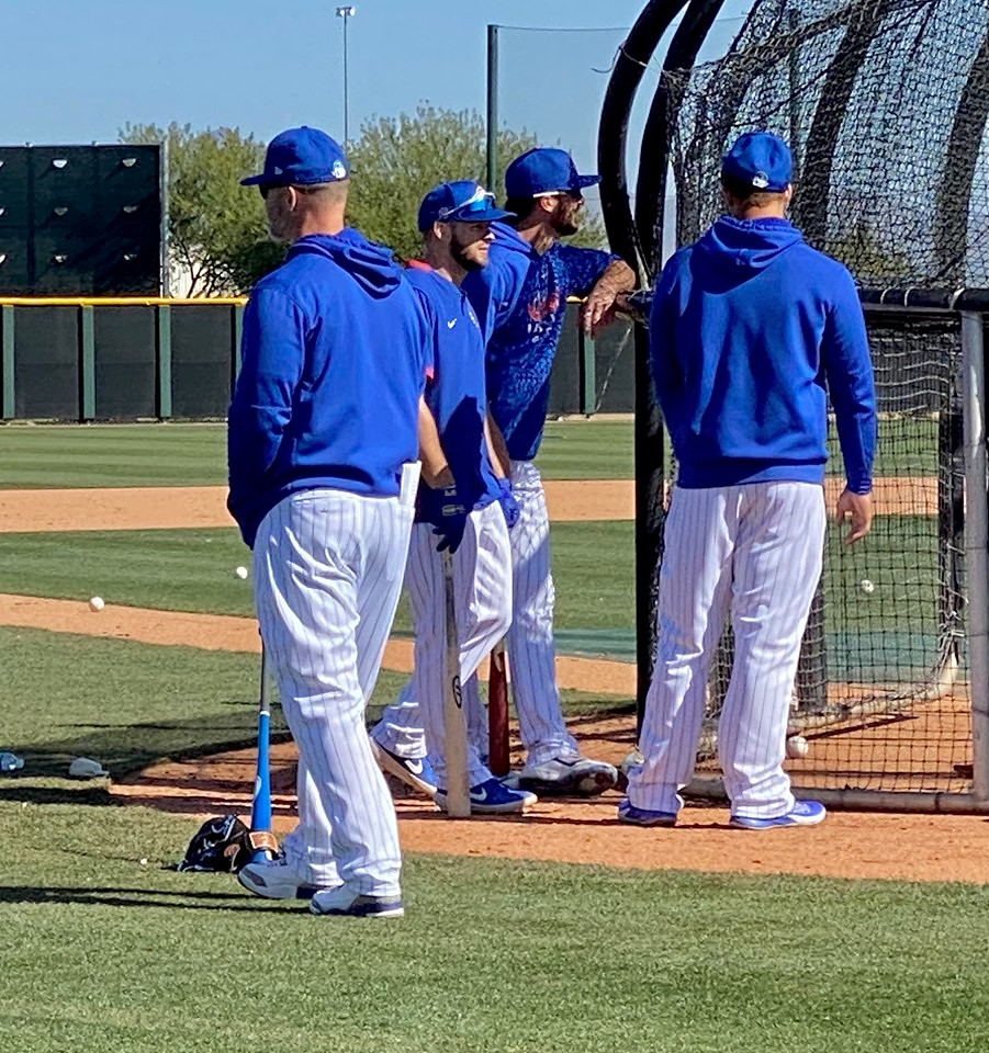 Cubs Photos: Baseball, 2020, chicago, cubs, springtraining, Kris  Bryant, Anthony  Rizzo
