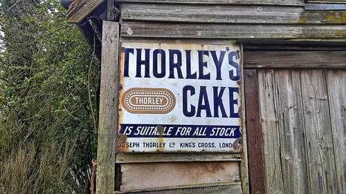 UK, Suffolk, Old Forge Enamel Sign Redingfield