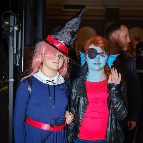 Sucy Manbavaran - Little Witch Academia / Undyne the Undying Fish - Undertale