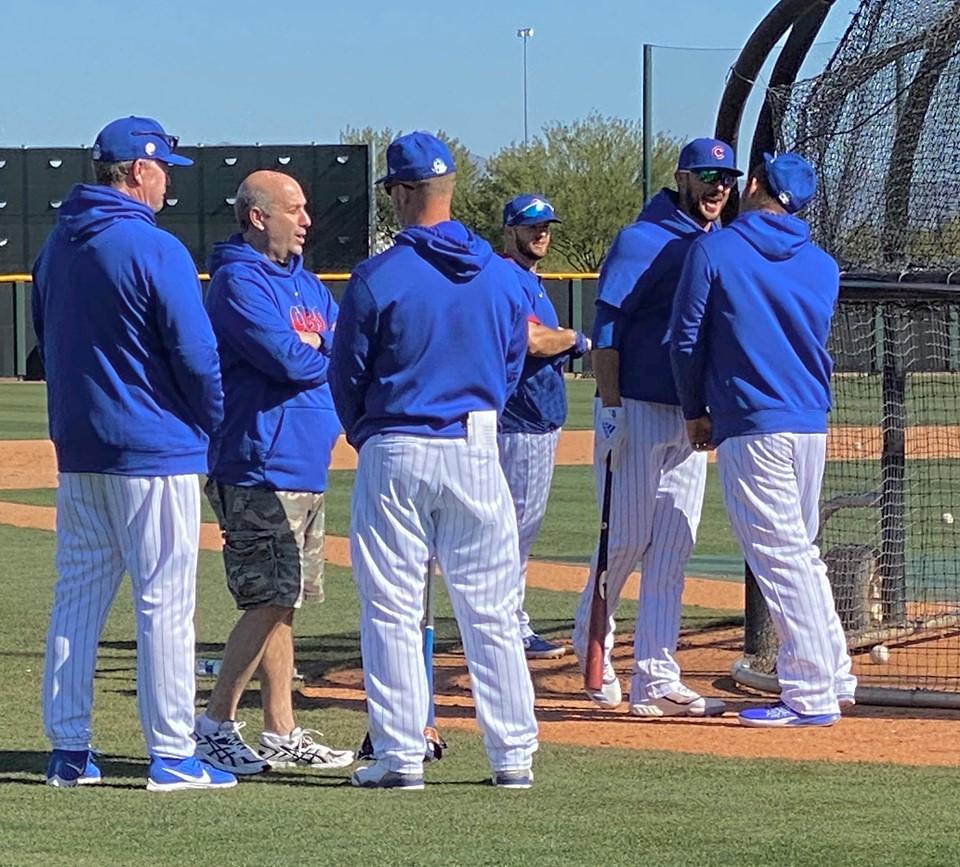 Cubs Photos: Baseball, 2020, chicago, cubs, springtraining, David  Ross