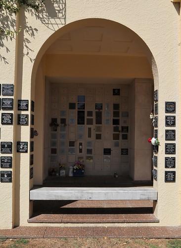 Columbarium Niche Wall Inside, Alcove 1