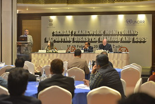 Sendai Framework Monitor and DLD Workshop - Delhi by UN DRR