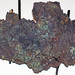 Native copper (Madison Gold Skarn Deposit, Late Cretaceous, 80 Ma; west of Silver Star, Montana, USA) 3