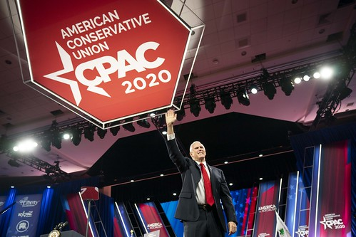 Vice President Pence at CPAC by The White House, on Flickr