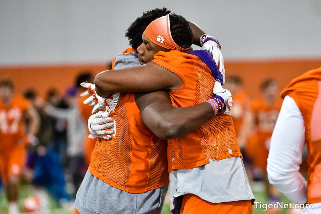 Clemson Photos: Justin  Mascoll, 2020, Football