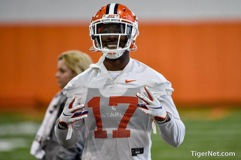 Clemson Photos: Cornell  Powell, 2020, Football