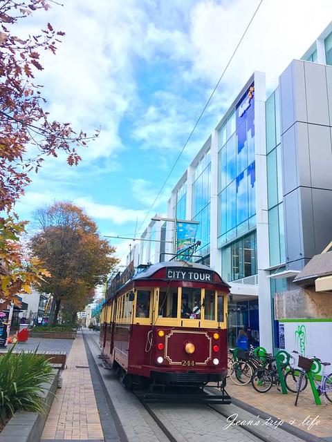 基督城電車是漫遊市區最好方式