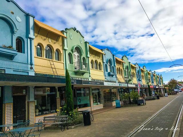 紐西蘭基督城新攝政街 New Regent Street