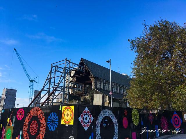 基督城大教堂還未修建完成