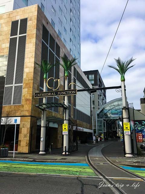 紐西蘭基督城Cathedral Junction商圈