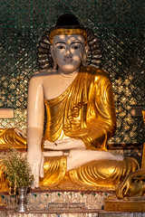 Buddha at Shwedagon Pagoda