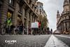 La marxa lenta va avan�ant - Protesta pel nou projecte de Via Laietana