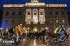 A l'Ajuntament a protestar - Protesta pel nou projecte de Via Laietana