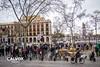 Cada cop hi ha m�s gent - Protesta pel nou projecte de Via Laietana