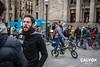 El BACC va convocar la marxa lenta per protestar contra la nova Via Laietana (no consensuada) - Protesta pel nou projecte de Via Laietana