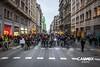 Protesta pel nou projecte de Via Laietana