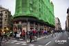 Reagrupament semaforic - Protesta pel nou projecte de Via Laietana