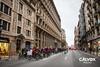 La quantitat de vehicles que serien aquestes persones en bici - Protesta pel nou projecte de Via Laietana