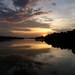 Serene Rio Negro Sunset