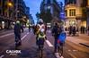Futur sobre rodes - Protesta pel nou projecte de Via Laietana