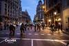 Molts ciclistes - Protesta pel nou projecte de Via Laietana